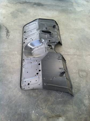 Complete replacement firewall fits 1955-59 Chevrolet C-10 and GMC trucks. This may be a truck freight package and may have extra charges. Please call for best shipping prices.