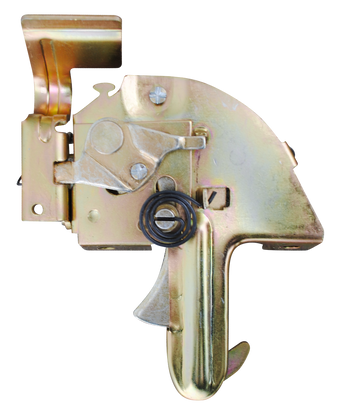 This 2nd Series hood latch assembly fits 1955-1957 Chevrolet and GMC Pickup Trucks