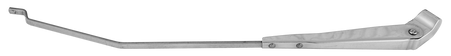 This stainless snap-in type right hand wiper arm fits 1947-1953 Chevrolet and GMC Pickup Trucks