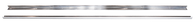 This pair zinc angle strips, long bed stepside fits 1947-1953 Chevrolet and GMC Pickup Trucks