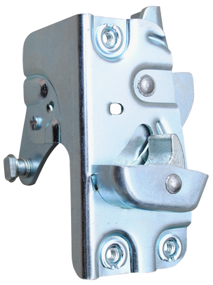 This 1st Series door latch assembly, 1st Design 3100/3600, passenger's side fits 1952-1955 Chevrolet and GMC Pickup Trucks