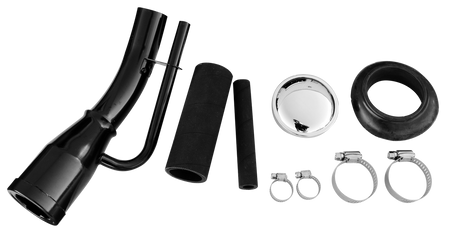 This fuel neck filler kit fits 1947-54 Chevrolet and GMC Pickup Trucks