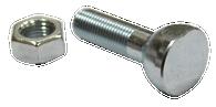This fleetside tailgate chain pivot bolt and nut fits 1958-1966 Chevrolet and GMC Pickup Trucks