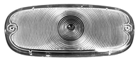 This 2nd Series clear front park light lens fits 1955-1959 Chevrolet and GMC Pickup Trucks
