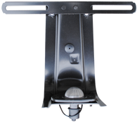 This 1st & 2nd Series rear license plate bracket, with lamp fits 1954-1959 Chevrolet and GMC Pickup Trucks
