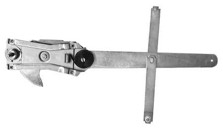 This 2nd Series window regulator, driver's side fits 1955-1959 Chevrolet and GMC Pickup Trucks