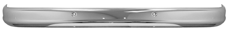 This front chrome bumper fits 1963-1966 Chevrolet and GMC Pickup Trucks