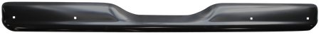 This rear painted fleetside bumper without license holes, fits 1960-1962 Chevrolet and GMC Pickup Trucks