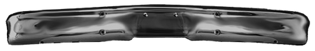 Front bumper paintable w/o hole fits 1967-70 GMC and Chevrolet trucks