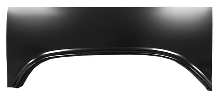 This bed upper wheel arch, driver's side fits long and short bed, fleetside, 1960-1966 Chevrolet and GMC Pickup Trucks