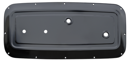 This driver's side inner door panel fits 1964-1966 Chevrolet and GMC Pickup Trucks