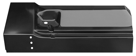 This rear outer cab floor section, passenger's side fits 1960-1966 Chevrolet and GMC Pickup Trucks