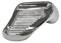 This driver's side chrome vent window handle fits 1960-1967 Chevrolet and GMC Pickup Trucks and Suburbans