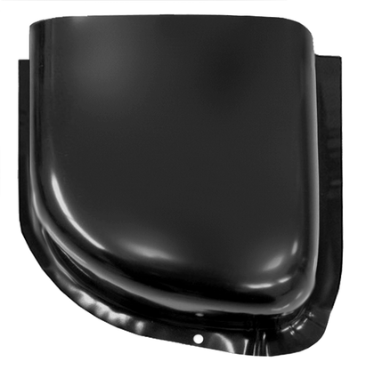 This lower air vent cowl, driver's side fits 1960-1966 Chevrolet and GMC Pickup Trucks