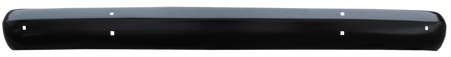 This 2nd Series painted front bumper fits 1955-1959 Chevrolet and GMC Pickup Trucks
