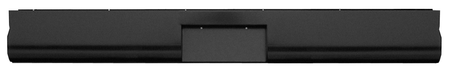 This fleetside roll pan with license, without lights, fits 1960-1966 Chevrolet and GMC Pickup Trucks