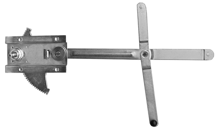 This window regulator, driver's side fits 1964-1966 Chevrolet and GMC Pickup Trucks