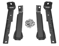 This short bed 4 wheel drive with leaf springs  rear bumper bracket kit,  fits 1967-1972 Chevrolet and GMC Pickup Trucks