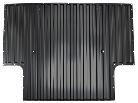 This 8' bed front half bed floor section fits 1967-1972 Chevrolet and GMC Pickup Trucks