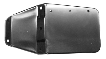 This rocker box end cap, passenger's side fits 1969-1972 Chevrolet Blazer and GMC Jimmys