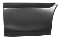 This lower front quarter section, driver's side fits 1969-1972 Chevrolet Blazer and GMC Jimmy