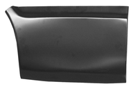 This lower front quarter section, passenger's side fits 1969-1972 Chevrolet Blazer and GMC Jimmy