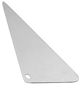 This clear vent window glass, driver's side fits 1968-1972 Chevrolet and GMC Pickup Trucks