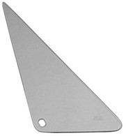This tinted vent window glass, driver's side fits 1968-1972 Chevrolet and GMC Pickup Trucks