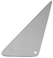 This tinted vent window glass, passenger's side fits 1968-1972 Chevrolet and GMC Pickup Trucks