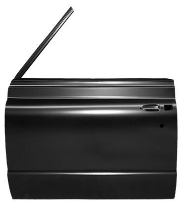 This complete door shell, driver's side fits 1969-1971 Chevrolet Blazer and GMC Jimmy
