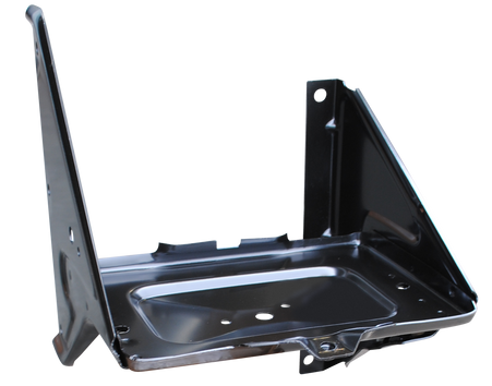 This battery tray without A/C fits 1967-1972 Chevrolet and GMC Pickup Trucks