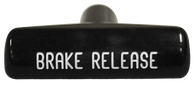 This emergency brake release handle fits 1969-1974 Chevrolet and GMC Pickup Trucks, Suburbans, Blazers, and Jimmy's