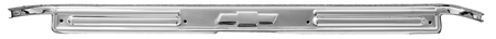 This GM licensed chrome bowtie door sill plate with kit fits 1967-1972 Chevrolet and GMC Pickup Trucks