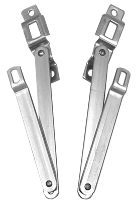 This fleetside tailgate hinges fits 1967-1972 Chevrolet and GMC Pickup Trucks