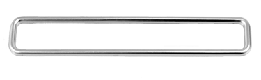 This 1 piece stainless steel side lamp marker trim fits 1968-1972 Chevrolet and GMC Pickup Trucks