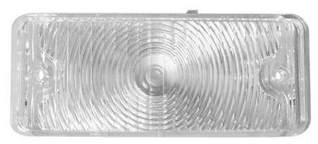 This driver's side, clear park light lens fits 1967-1968 Chevrolet and GMC Pickup Trucks