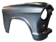 This 2nd Series front fender, passenger's side fits 1955-1956 Chevrolet pickup truck