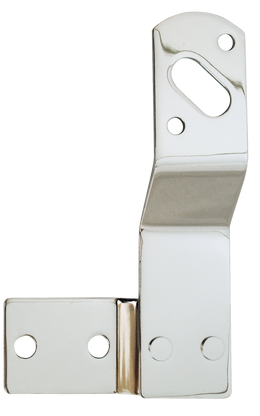 This passenger's side chrome tail light bracket fits 1947-1953 Chevrolet and GMC Pickup Trucks