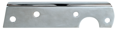 1954-1955 Chevrolet/GMC pickup tail light bracket chrome plated, passenger's side. Also available in painted black!