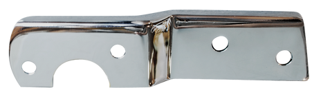 This chrome tail light bracket, driver's side (painted shown) fits 1955-1959 2nd Series Chevrolet and GMC Pickup Trucks, and 1960-1966 Chevrolet and GMC Pickup Trucks