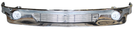 This custom front bumper valance with billet insert and fog lights fits 1999-2002 Chevy Silverado