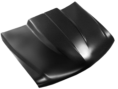 This cowl induction style hood fits:  1999-2002 Chevy Silverado (fits 1999-2000 HD) 2000-2006 Chevy Tahoe 2000-2006 Chevy Suburban