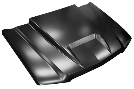 This ram air style hood fits:  2003-2005 Chevy Silverado (except 2005 HD) 2002-2006 Chevy Avalanche (without body side cladding)
