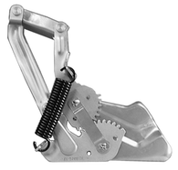 This 2nd Series hood hinge, driver's side (spring not included) fits 55-57 Chevrolet and GMC trucks. Springs are sold separately in a set for $20.00. Spring set is stock number 0847-031/032.