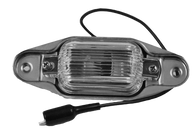 This rear license lamp assembly fits 1967-1987 Chevrolet and GMC Pickup Trucks