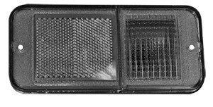 This red rear side marker lamp without trim fits 1968-1972 Chevrolet and GMC Pickup Trucks