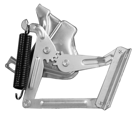 This hood hinge, driver's side (spring not included) fits 58-59 Chevrolet and GMC truck. Springs sold separately in a set of 2 for $20.00. Stock number for spring set is 0847-037/038.