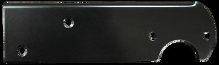 This passenger's side, black stepside tail light bracket fits 1967-1976 Chevrolet and GMC Pickup Trucks