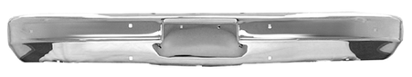 This front chrome bumper without holes fits 1973-1980 Chevrolet and GMC pickup trucks, 1973-1980 Chevrolet and GMC Suburban, 1973-1980 Chevrolet Blazer, and 1973-1980 GMC Jimmy