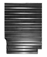 This rear 1/4 bed floor section, driver's side fits 1973-1987 Chevrolet and GMC pickup trucks